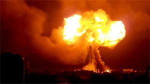 telefone celular explosão