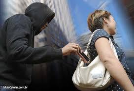 telefone celular roubado