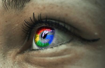 imagens olho colorido