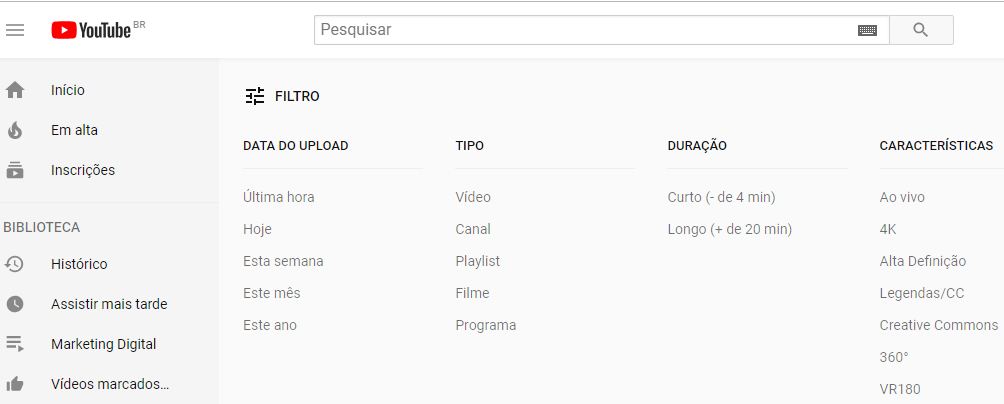 marketing no youtube dicas