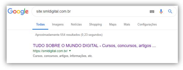 site indexado