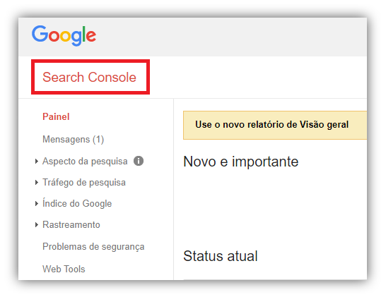 indexar sites search console