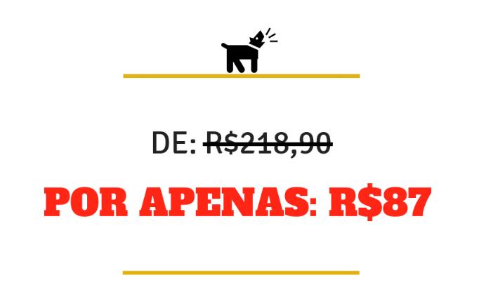 curso de adestramento de cães preço