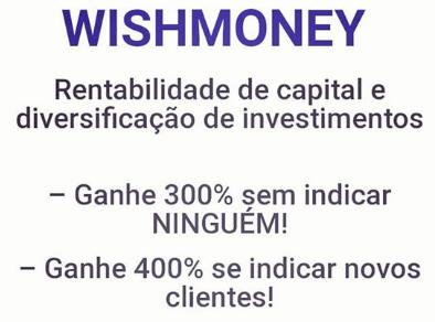 wish money ganhos